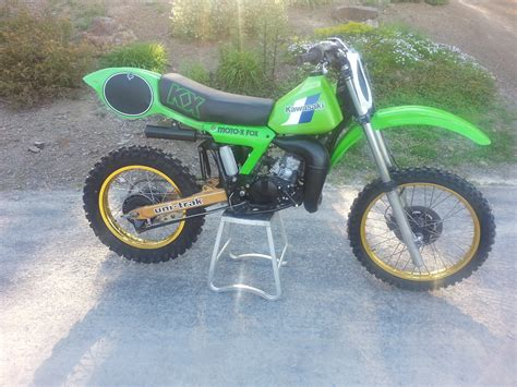 restored vintage motocross bikes for sale 1982 kx125 vintage mx restored for sale bazaar