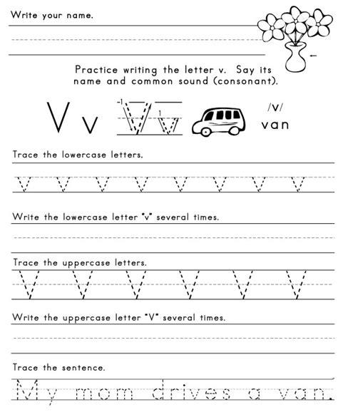 letter v worksheets letter v worksheet 1 letters of the alphabet 51793