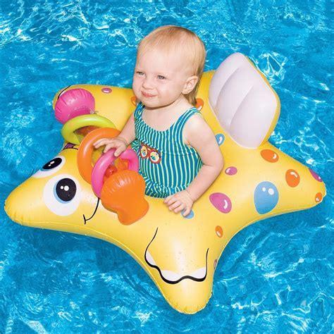 $5 Swimline Starfish Inflatable Baby Float   Beach