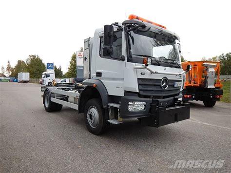 mercedes truck 4x4 used mercedes benz atego 1527 4x4 aurausvarustus