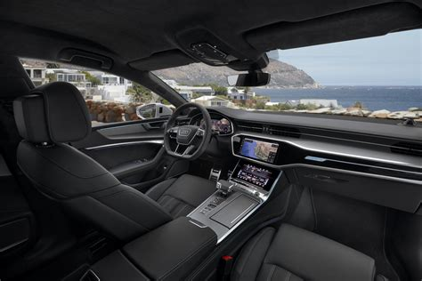 2019 Audi A7 Interior by Audi A7 Sportback 2019 Azul Interior Pantalla Touch