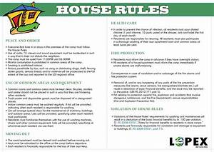house rules em kvinesdal With rental house rules template