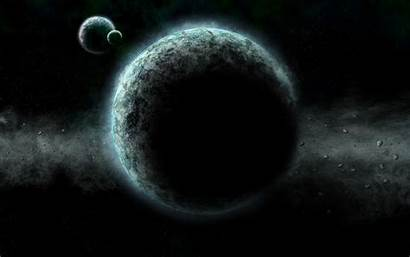 Planet Necron Dark Exoplanets Counting Moon Desolate