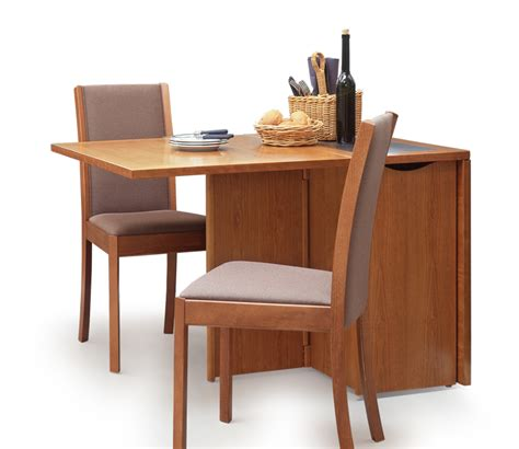 drop leaf kitchen table with storage adorable drop leaf table with chair storage homesfeed 9627