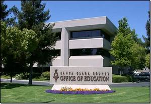 The Santa Clara County Office of Education is located at ...