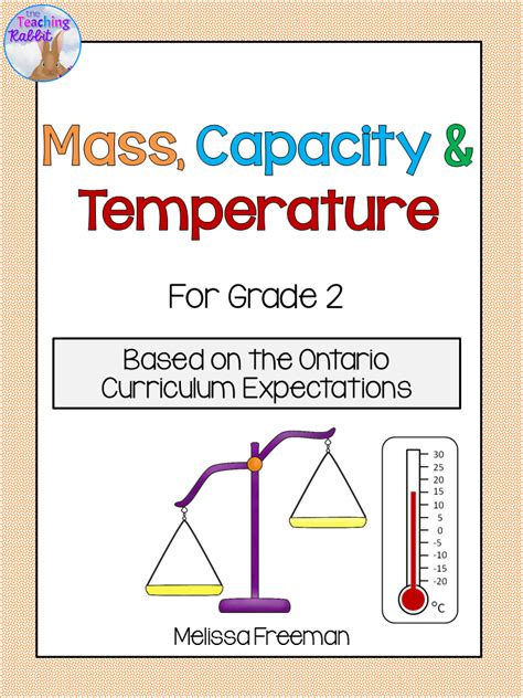 mass capacity  temperature unit  grade  ontario