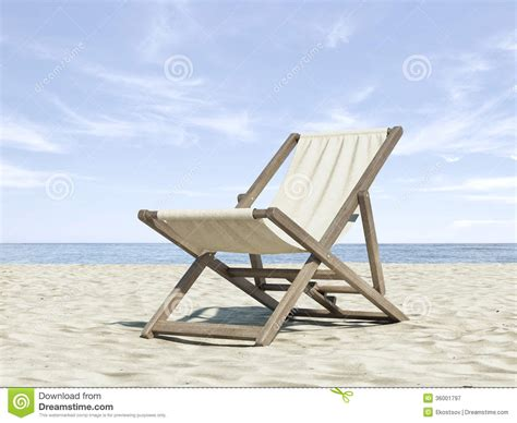 chaise longue plage chaise longue on the royalty free stock photography