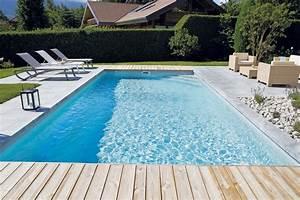 Piscine Liner Blanc : piscine rectangulaire 9x4 galerie photos desjoyaux ~ Preciouscoupons.com Idées de Décoration