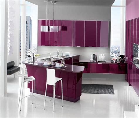 colors of kitchen purple and lilac kitchen in the interior home decor and 2362