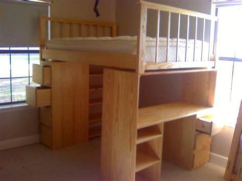 loft bed with desk full size mattress full size loft bed with desk and dresser by lala