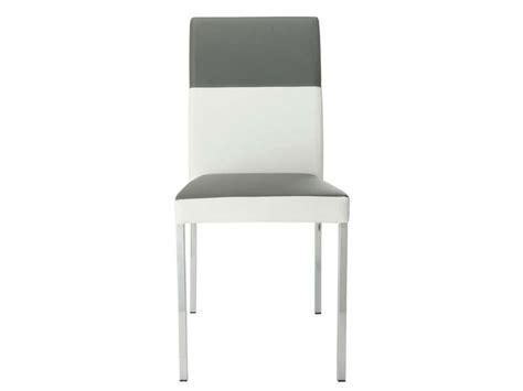 conforama chaise blanche chaise empilable milo coloris gris blanc vente de chaise conforama