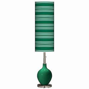 tiffany style floor lamps lamps plus With kathy ireland hyde park floor lamp with glass tray