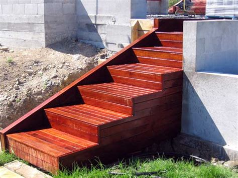 Marvelous Outdoor Wooden Stairs #13 Building Wooden Steps