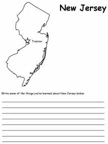 New Jersey State Symbols Worksheet