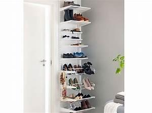 Petit Rangement Chaussures : des meubles sympas pour une petite entr e elle d coration ~ Teatrodelosmanantiales.com Idées de Décoration