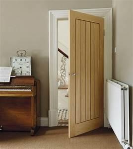 Dordogne oak door internal hardwood doors doors for Internal door ideas uk