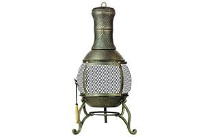 Chiminea Topper by Top 10 Best Chiminea Outdoor Fireplace In 2019 Reviews