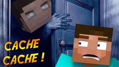 Cache Cache Minecraft Un Tricheur Dans Notre Partie