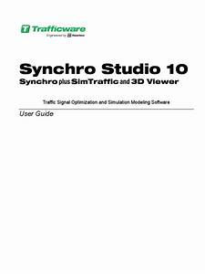 Synchro 10 1 User Guide