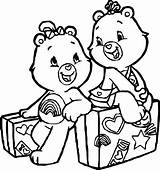 Coloring Travel Care Lot Bears Adventures Wecoloringpage sketch template