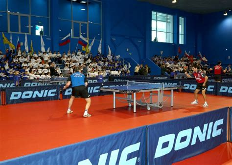 gazprom opens russia and europe s largest table tennis center in orenburg