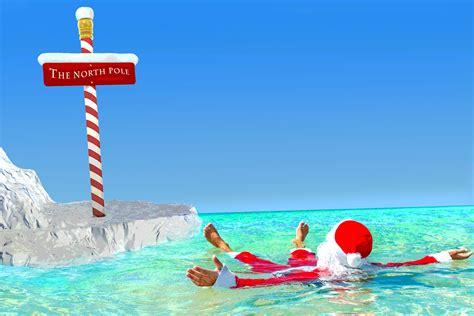 warmest christmas   north pole
