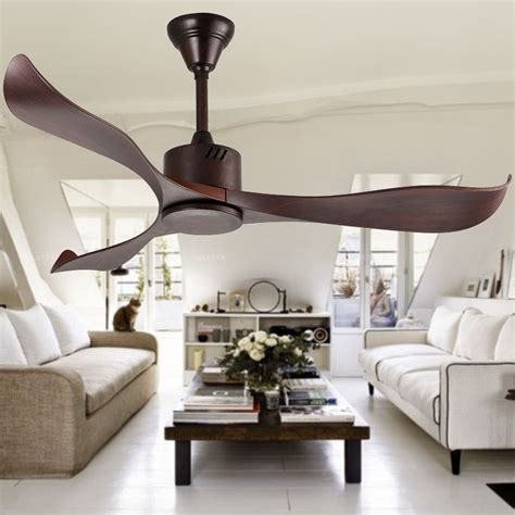 Quietest Ceiling Fans 2015 by 7 4kg Three Wood Blades Ceiling Fan Without Light