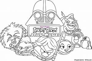 Angry Birds Star Wars Coloring Pages | Team colors