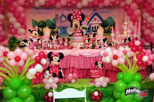 motion plus pictures minnie themed birthday ideas