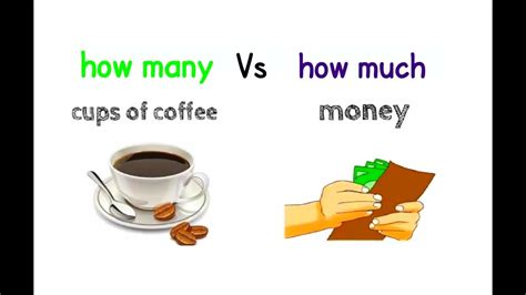 how many vs how much - YouTube