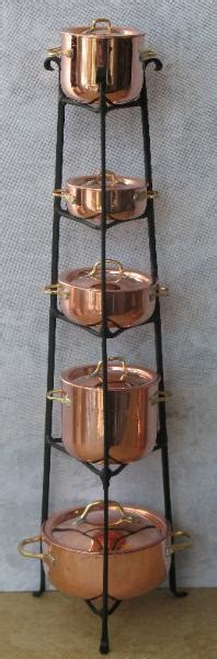Standing Pot Rack by Standing Pot Rack W Pots Jg46 272 00 Miniature