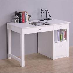 Walmart Dressers And Nightstands by White Desk Student Storage Desk W Keyboard Tray