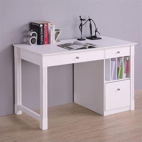 white desk for white desk student storage desk w keyboard tray
