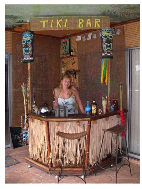 Make A Tiki Bar tiki bar how to build your own cheap