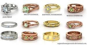 tangled wedding rings rise of the brave tangled dragons wedding rings by supereilonwypevensie on deviantart
