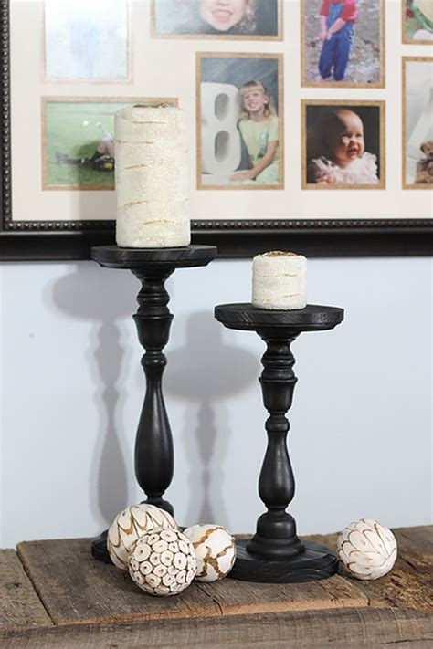 pottery barn candle holders 52 diy furniture knock offs