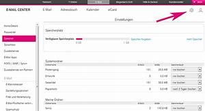 Telekom Hotline Rechnung : verf gbarer speicherplatz e mail center telekom hilfe ~ Themetempest.com Abrechnung