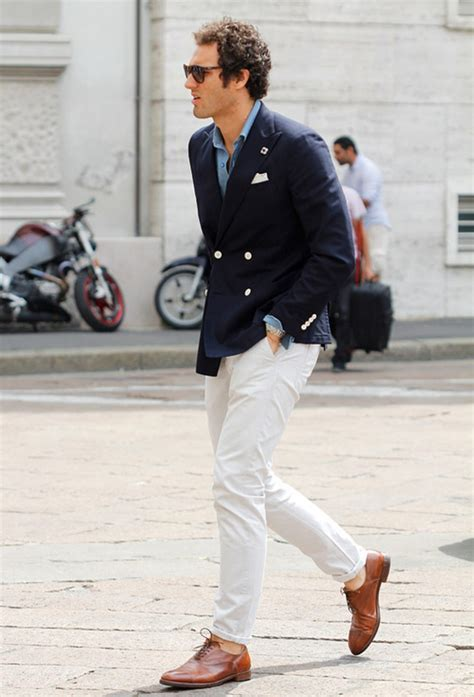 23 Cool Spring White Jeans Outfits For Men - Fashionetter