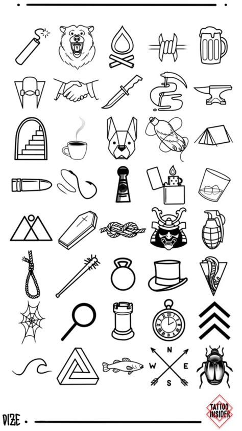 160 Original Small Tattoo Designs | Tattoo designs men, Small tattoos for guys, Small hand tattoos