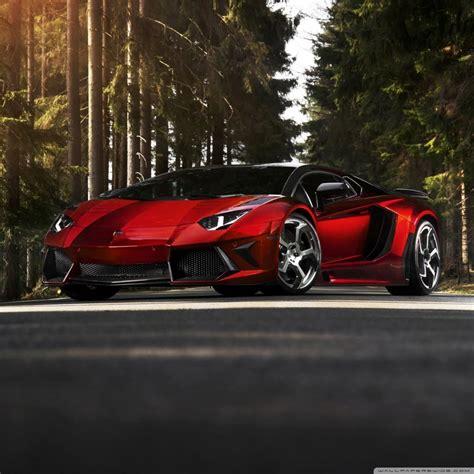 Lamborghini Aventador Lp 700 4 Forest 4k Hd Desktop