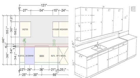 Kitchen Design Standards by Helpful Kitchen Cabinet Dimensions Standard For Daily Use