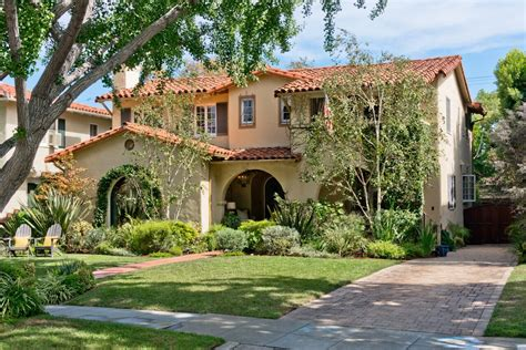 updated spanish style home  sale  san marino