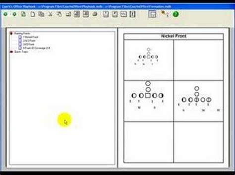 football play designer football playbook software introduction