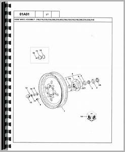 Ford 4500 Industrial Tractor Parts Manual