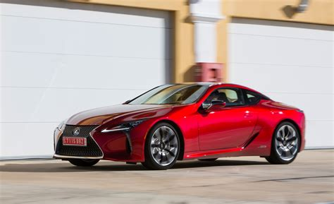 2018 Lexus Lc 500 Red Gallery (photo 2 Of 84