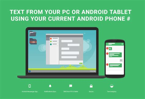 best texting app for android tablet yappy sms on pc tablet android apps on play