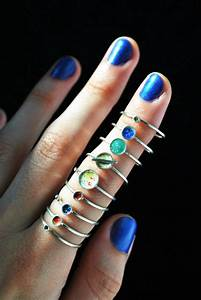 Wear The Planets On Your Fingers   OhGizmo!