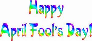 Happy April Fool's Day Banner Clip Art