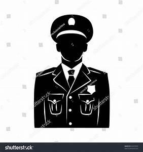 Vector Policeman Silhouette Stock Vector 62423029 ...