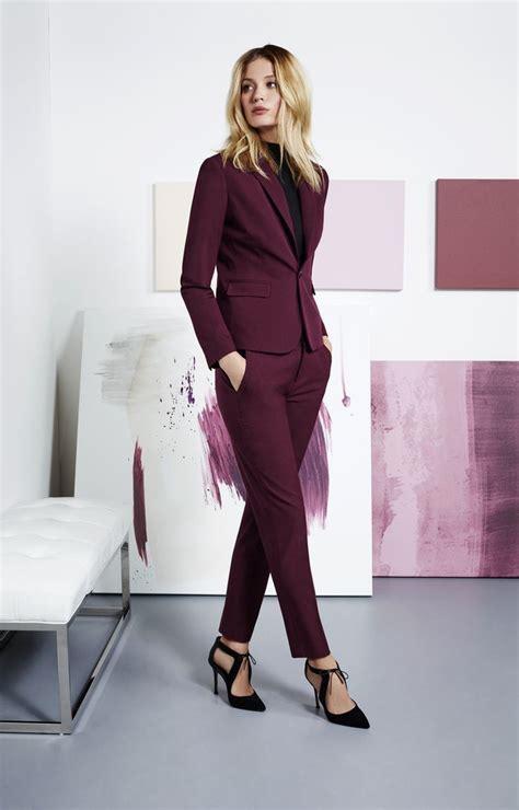 tenue bureau femme 1001 looks tendance en tailleur femme chic